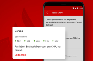 radar cnpj santander on